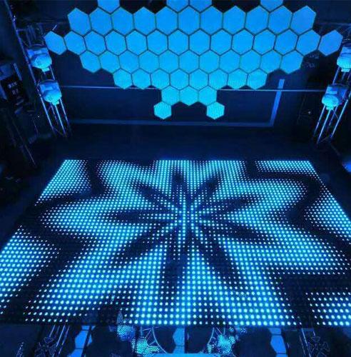 alquiler pista de baile LED